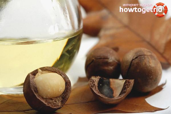 Cách sử dụng dầu Macadamia