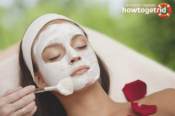 Universālas maskas ādas atjaunošanai