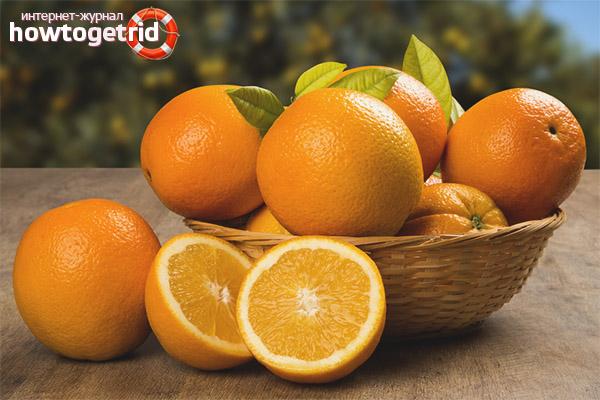 Портокали по време на бременност
