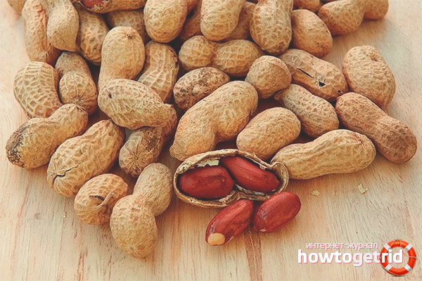 Kacang tanah semasa mengandung