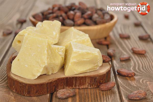 L'ús de mantega de cacau amb finalitats cosmètiques