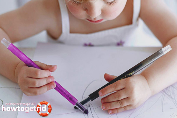 Kā identificēt bērnu ar kreiso vai labo roku