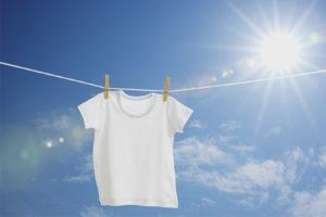 Cách làm trắng áo thun trắng