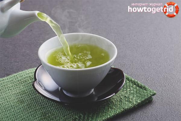 Wie man grünen Tee braut und trinkt