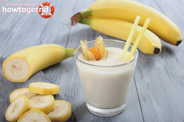 Cum să faci un smoothie de banane