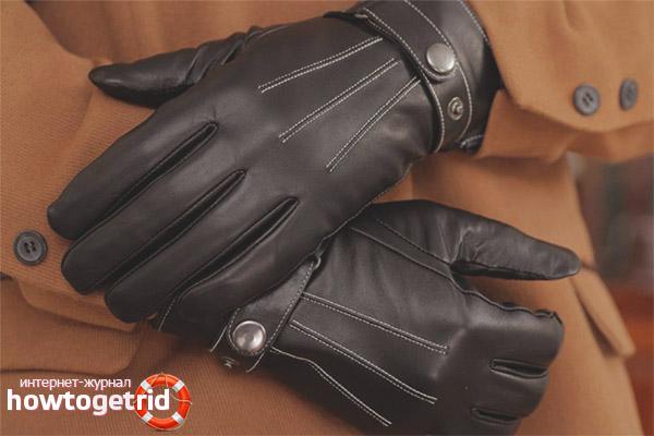 Jak dbać o skórzane rękawiczki