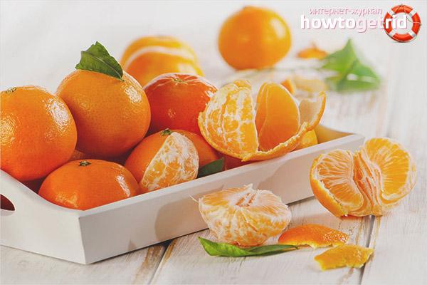 Como usar tangerinas durante a gravidez