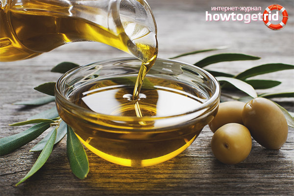 Tractament amb oli d'oliva