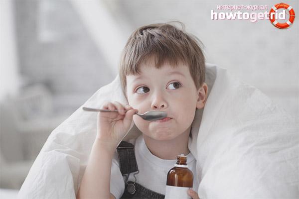 Leki na kaszel dla dzieci