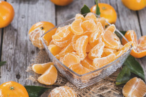 Mandarines durant l'embaràs