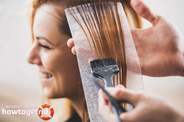 Ist es möglich, Haare während der Menstruation zu färben