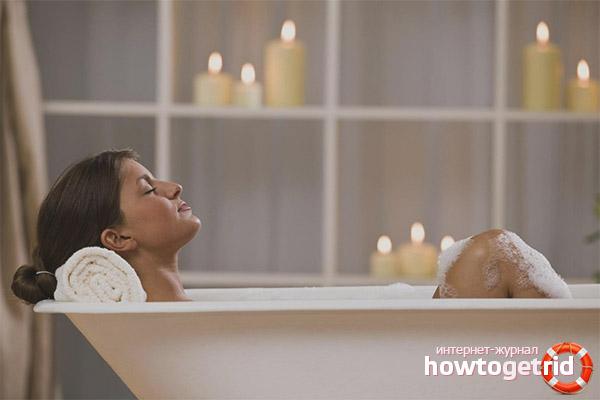 Ist es möglich, während der Menstruation ein Bad zu nehmen?