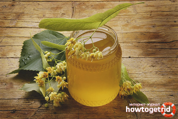 Propietats útils de contraindicació de la mel de til