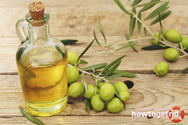 L'ús d'oli d'oliva