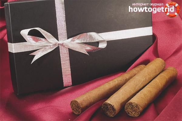 Zigarren als Geschenk an den Vater