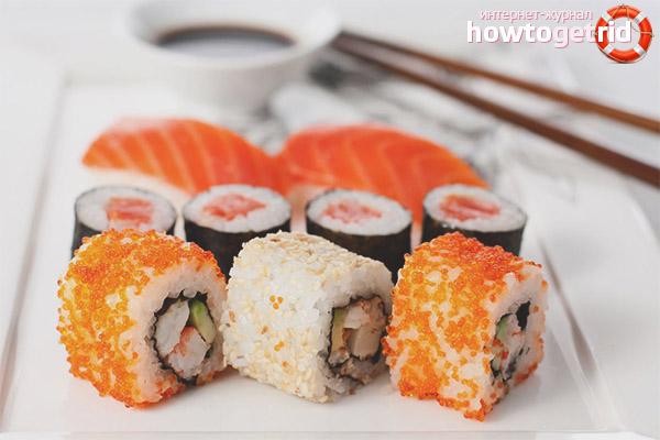 Sushi dan roti semasa mengandung