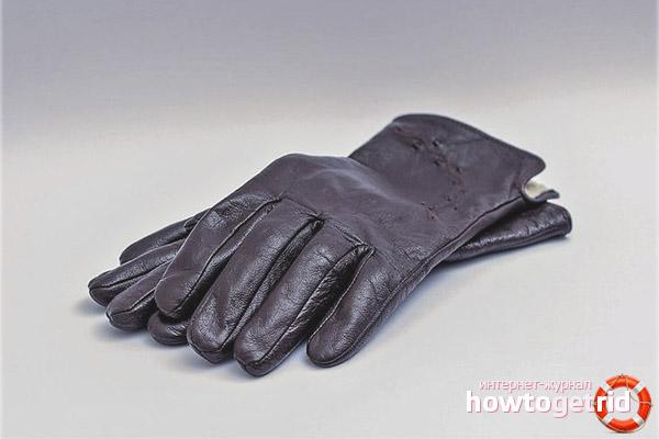 Pielęgnacja skórzanych rękawiczek