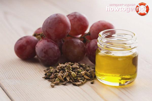 Traubenöl für die Hauternährung