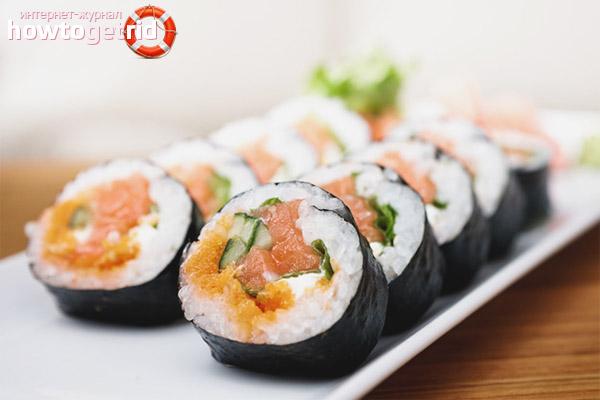 Bahaya sushi semasa mengandung