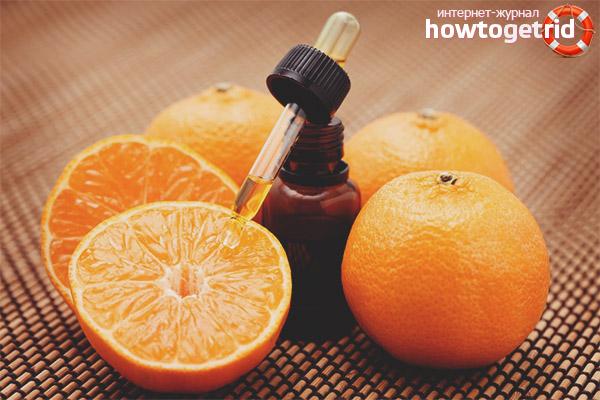 Acne orange lugt