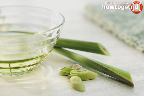 Die Verwendung von Zitronengrasöl in der Hautpflege