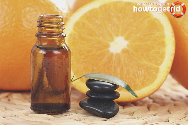 Ansigt Orange Essential Oil