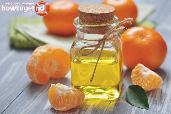 Mandarīnu ēteriskā eļļa