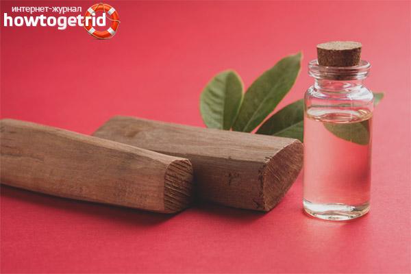 Ätherisches Sandelholzöl