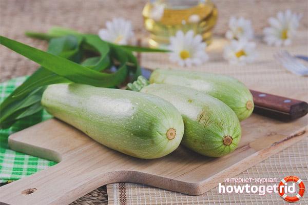 Zucchini semasa mengandung