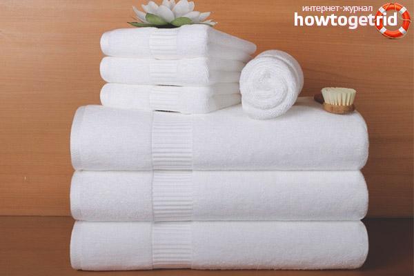 Com refrescar les tovalloles de cuina blanques