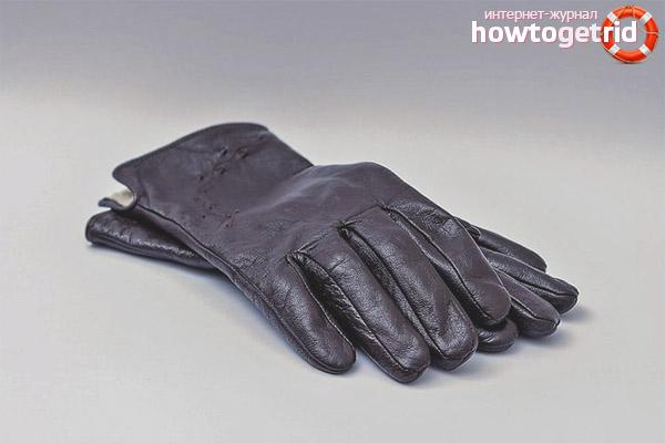Wie man Lederhandschuhe wäscht