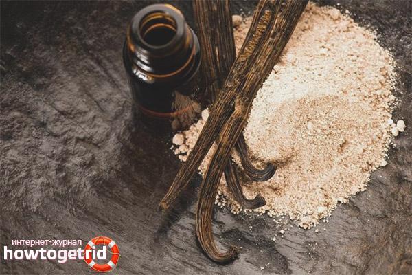 Como aplicar o óleo de baunilha