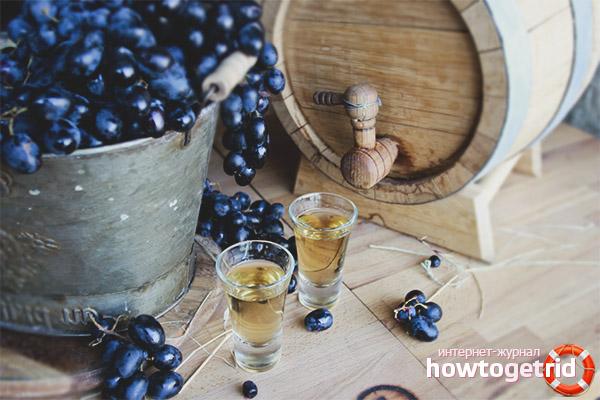 Como fazer Chacha de uvas