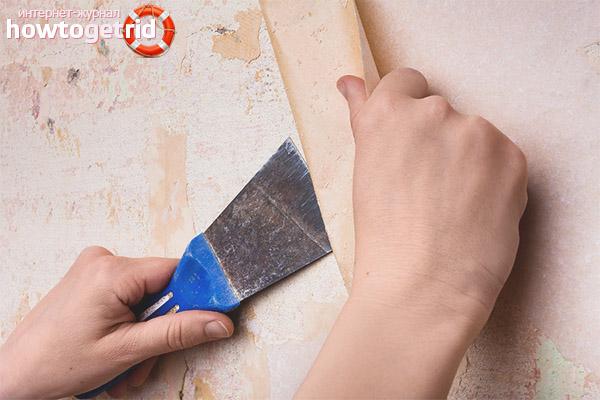 Jak usunąć stare tapety ze ścian