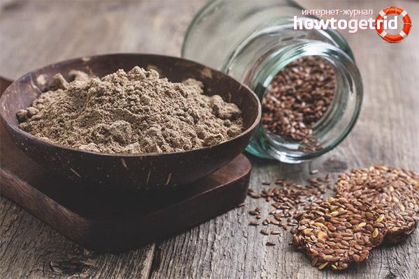 Com triar la farina de lli