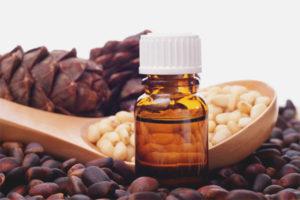 Cedar olej na tvár