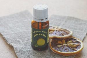 Bergamotový olej na tvár