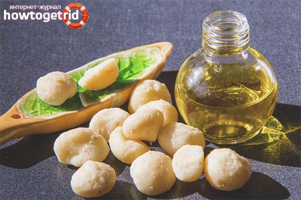 Olej na tvár Macadamia Oil
