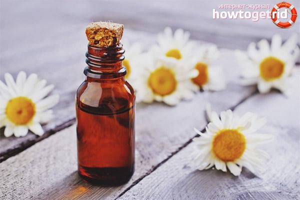 Minyak chamomile untuk wajah