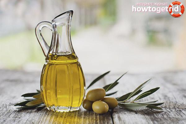 Olivenöl für das Gesicht