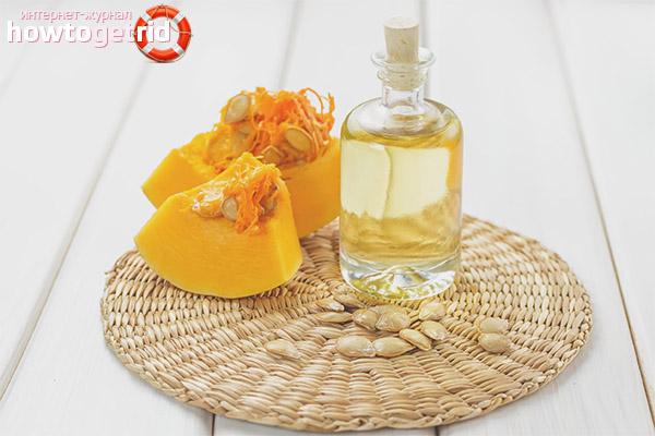 Die Haupteigenschaften von Kürbisöl in der Kosmetik