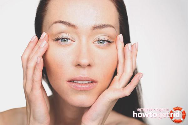 Opuchlizna twarzy u kobiet