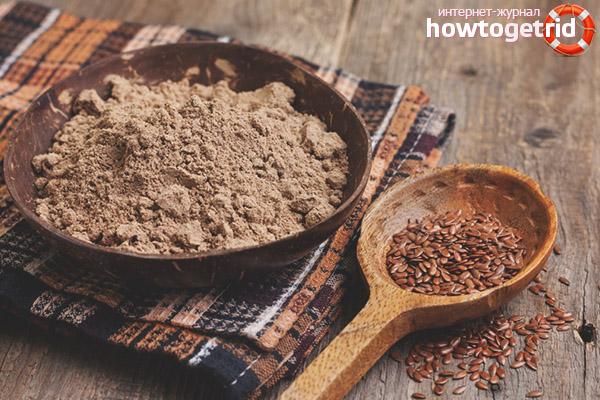 Propietats útils i contraindicacions de la farina de lli