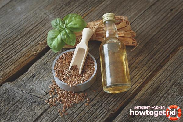 Nützliche Eigenschaften von Leinöl