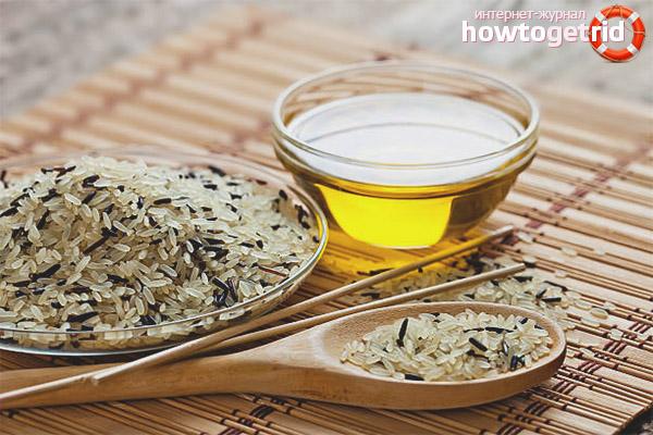 Els avantatges de l'oli d'arròs