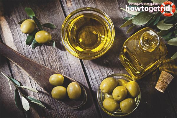 Die Verwendung von Olivenöl für das Gesicht