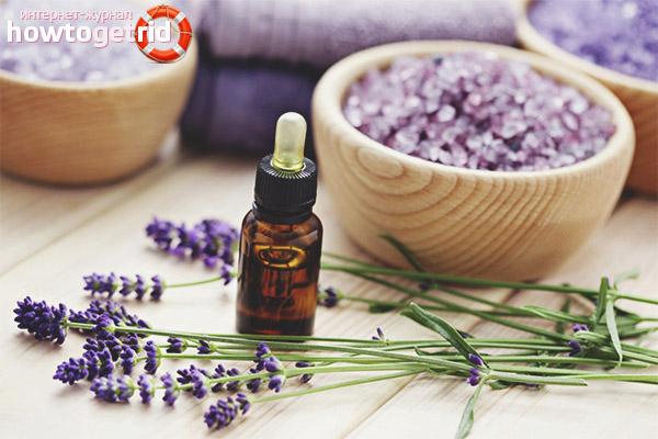 Recepty na tvár s levanduľovým olejom