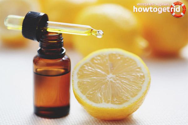 Receitas caseiras de máscara facial com óleo de limão