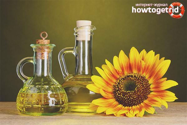 Sonnenblumengesichtsrezepte