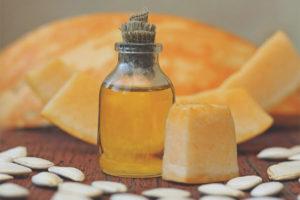 Tekvicový olej na tvár
